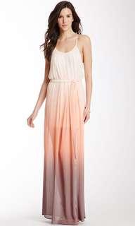 WISH Sunset Ombré Maxi Dress