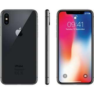 [99.9%New] iPhone X 太空灰 256GB (香港行貨/無花無壞/有保養)