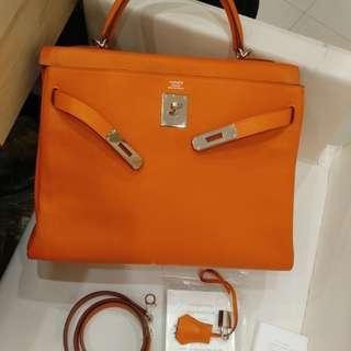 Hermes kelly 32 T stamp