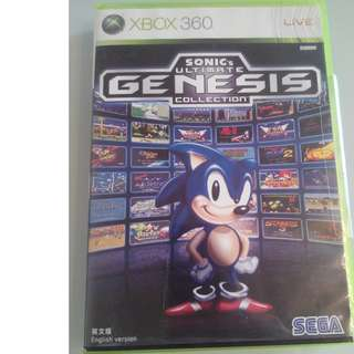 Xbox 360 SONIC'S ULTIMATE GENESIS COLLECTION ENGLISH VERSION (MADE IN JAPAN)