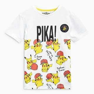 Pikachu T-Shirt (3yrs-10yrs)
