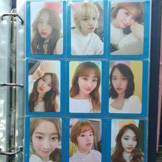 WTS TWICE Once Membership Photocard Set