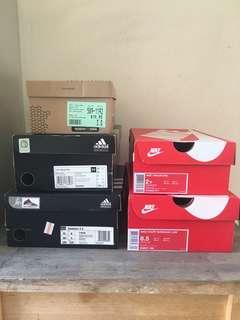 Empty Shoes Boxes