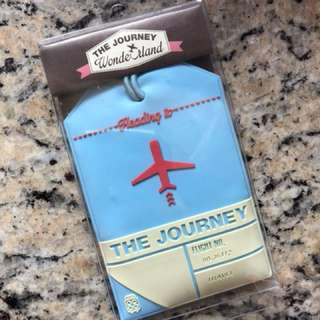 韓國The Journey 行李牌 名牌 Korean The Journey Luggage Tag Name Tag