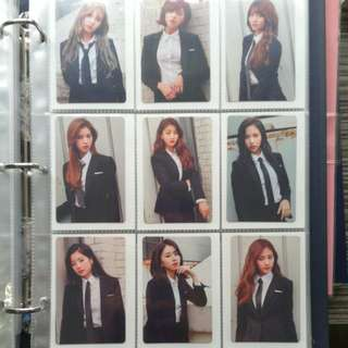 WTS TWICE Once Begins Photocard Set B