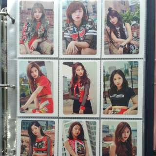 WTS TWICE Once Begins Photocard Set C