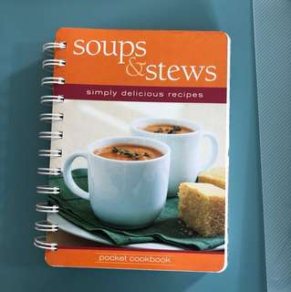 Soups and stews recipe book