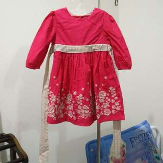 Poney Pink Gown for Girls