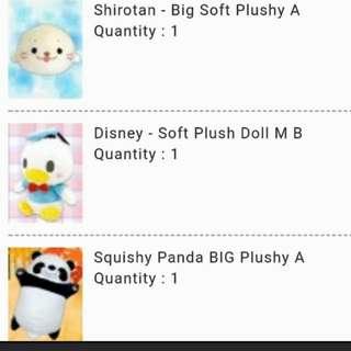 Toreba Panda Plush