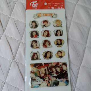 Twice sticker