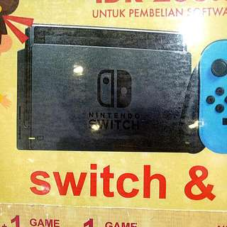 Kredit Nintendo Switch&Play 1 Game Tanpa Kartu Kredit
