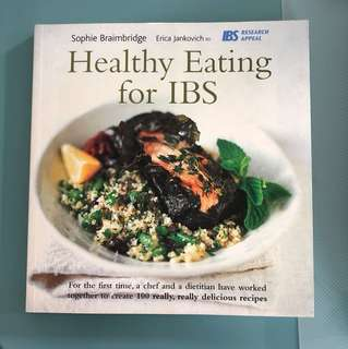 Healthy Eating for IBS recipe book