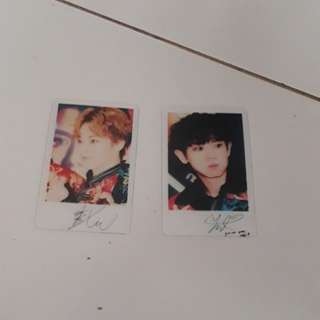 [Instock]EXO Transparent card