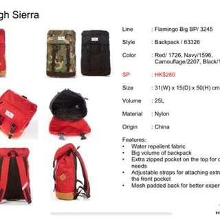 High Sierra 紅色背囊