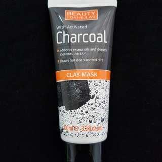 Beauty Formula Charcoal Clay Mask-100ml