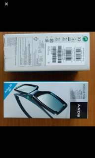 Sony TBG-BT500A 3D Glasses (2pcs)