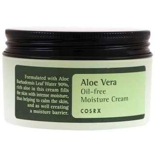 cosrx aloe vera oil free moisturizer