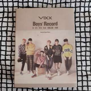 VIXX Boys' Record Album