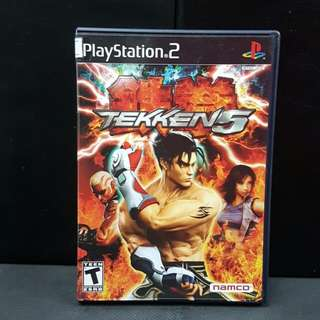 PS2 Tekken 5 (Used Game)