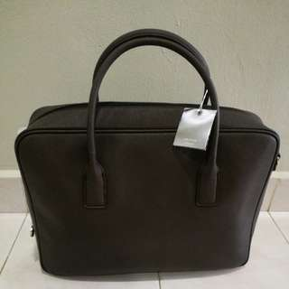 Oroton - Melanie Briefcase Full Leather