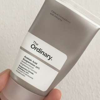 The Ordinary- Azelaic Acid Suspension 10%- Multifunctional Brightening Formula