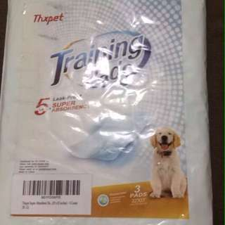 Puppy Dog Training Pee Poop Pads 3 pack size large