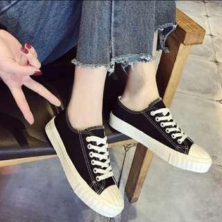 Korean Fashion Women Canvas Shoes