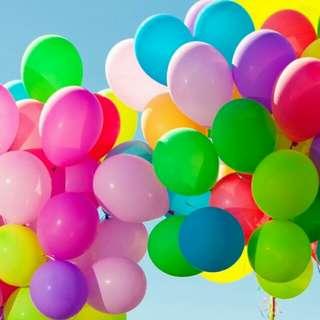 """Standard Assorted Balloons 6"""""""