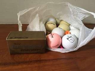 17 Golf balls