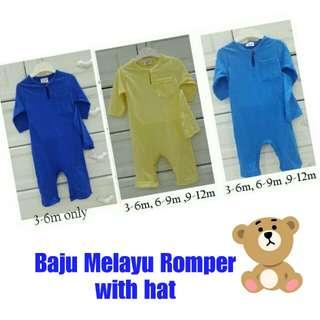 BN Romper Melayu with Hat