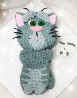 Talking Tom Cat cake