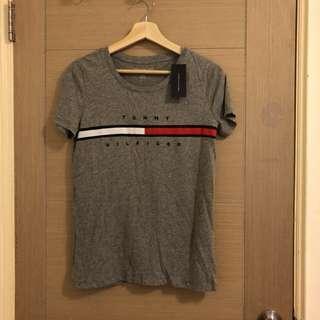 美國TOMMY購入灰色短袖T