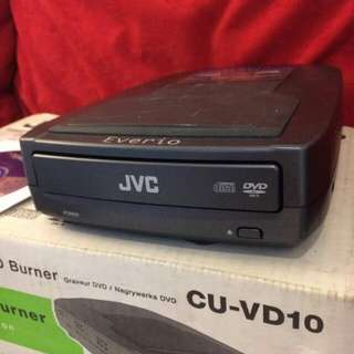 Jvc everio CU-VD10 direct dvd burning