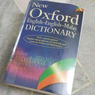 Oxford English-Malay Dictionary