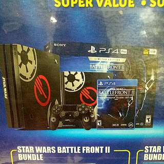 Kredit PS4 Pro Star Wars Battle Front II Bundle Tanpa Kartu Kredit