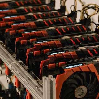 MITHRIL SEEKER - 6 GPUs 1070TI 8GB Crypto Mining Rigs