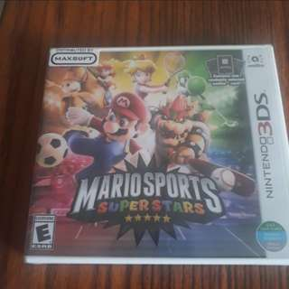 3ds/2ds mario sports superstar