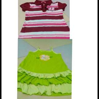 Kids Dress and shirt