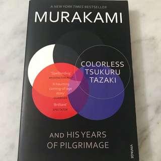Murakami - Colorless Tsukuru Tazaki