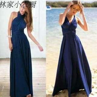 infinity dress (Navy blue)