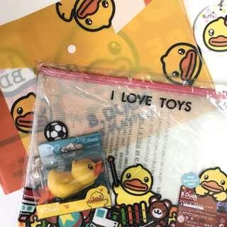 🌞B duck釘書機&文件套