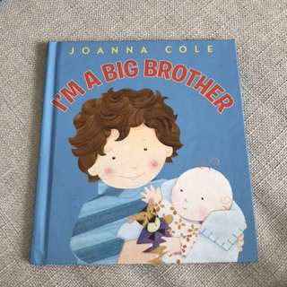 Baby Books on being a New Big Brother