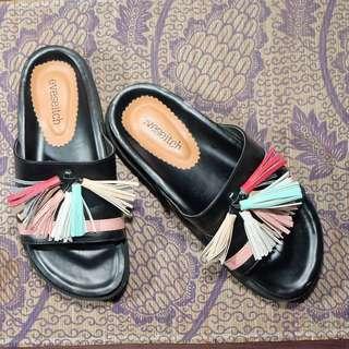 Oriza Sandal Black