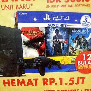 Kredit PS4 500 Gb HITS-2 Bundle Tanpa Kartu Kredit