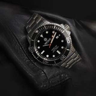 Deep blue 機械錶