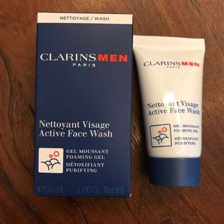 Clarins Men Active Face Wash 30ml