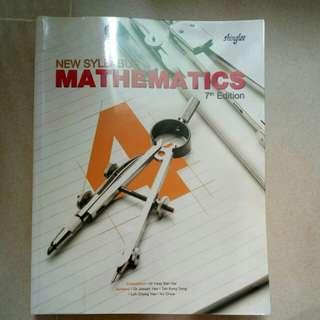 Shinglee Mathematics 7th edition Sec 4 textbook