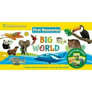 [Brand New] Smithsonian First Discoveries Big World By: Courtney Acampora, Jenna Riggs (Illustrator)