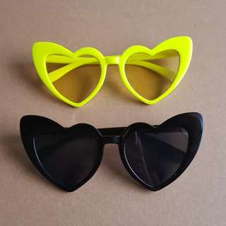 Lou Lou Oversized Heart Sunnies
