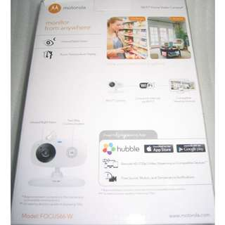 Motorola HD 720p Wireless IP Camera Focus66-W . use mobile Apps to install and view